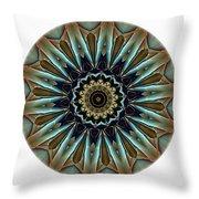Mandala - Talisman 1457 Throw Pillow