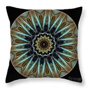 Mandala - Talisman 1458 Throw Pillow