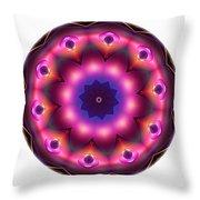 Mandala - Talisman 1486 Throw Pillow