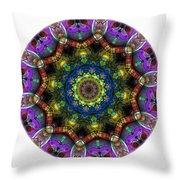 Mandala - Talisman 1526 Throw Pillow