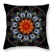 Mandala - Talisman 1538 Throw Pillow