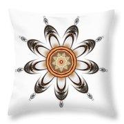 Mandala - Talisman 1630 Throw Pillow
