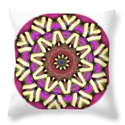 Mandala - Talisman 1681 Throw Pillow