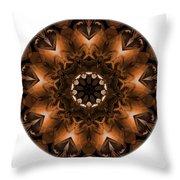 Mandala - Talisman 3703 Throw Pillow