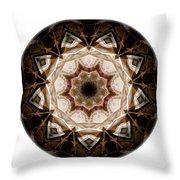 Mandala - Talisman 3707 Throw Pillow