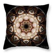 Mandala - Talisman 3708 Throw Pillow