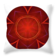 Mandala - Talisman 4006 Throw Pillow