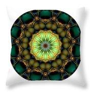 Mandala - Talisman 853 For Those Born In 1957 Throw Pillow