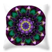Mandala - Talisman 855 For Those Born In 1959 Throw Pillow