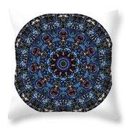 Mandala - Talisman 962 For Those Born In ..... Throw Pillow