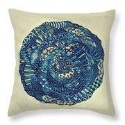 Mandala Tangled Digital Throw Pillow
