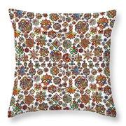 Mandala Traditional Design Throw Pillow