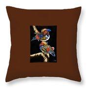 Mandarin Ducks - Sa106 Throw Pillow