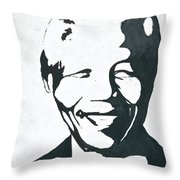Mandela Throw Pillow