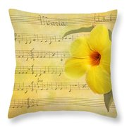 Mandevilla And Maria Throw Pillow