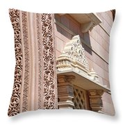Mandir # 4 Throw Pillow