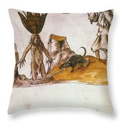Mandrake, C1500 Throw Pillow