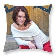 Mandy 0043 Throw Pillow