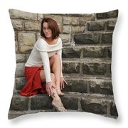 Mandy 0103 Throw Pillow