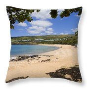 Manele Bay II Throw Pillow