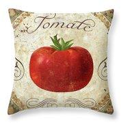 Mangia Tomato Throw Pillow