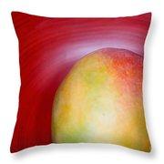 Mango Close-up Throw Pillow