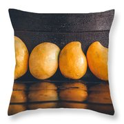 Ripe Mangoes Throw Pillow
