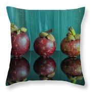Mangosteens 1 Throw Pillow