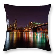 Manhattan 030 Throw Pillow