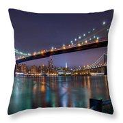 Manhattan 031 Throw Pillow