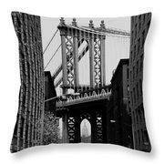 Manhattan Empire Throw Pillow
