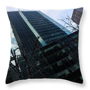 Manhattan Left Throw Pillow