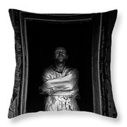 Maniac Throw Pillow