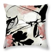 Manifesto Coral Throw Pillow