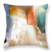 Manifesto Of Landscape Abstraction Throw Pillow
