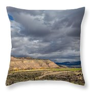 Manila Ranchland Throw Pillow