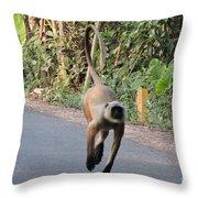Manki Throw Pillow