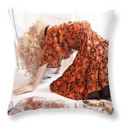 Mannequin 91 Throw Pillow