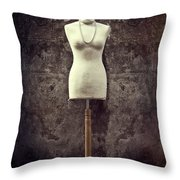 Mannequin Throw Pillow by Joana Kruse