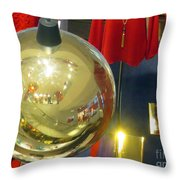 Mannequins And Ornament Throw Pillow