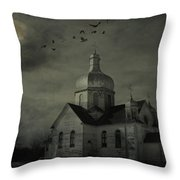 Mannerisms Of Midnight  Throw Pillow by Empty Wall