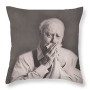 Manner's Never Get Old Throw Pillow