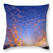 Manoa Valley Sunrise Throw Pillow