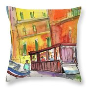 Manorola In Italy 04 Throw Pillow