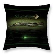 Manta Concept Throw Pillow