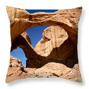 Many Arches Throw Pillow