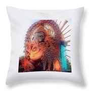 Many Blessings  Throw Pillow