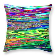 Many Colors 22 Throw Pillow