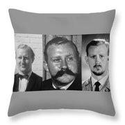Many Faces Of  Assassin John Dane 2         Throw Pillow