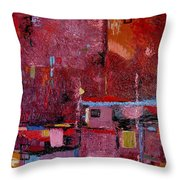 Many Mansions Throw Pillow